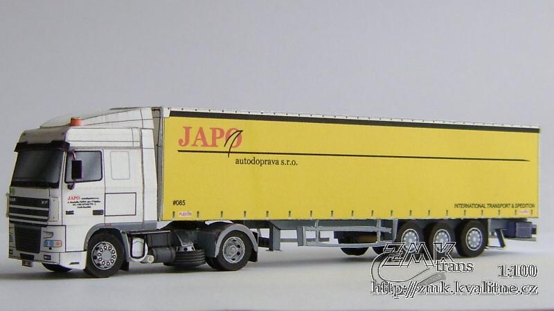Colección de papercraft de camiones. Manualidades a Raudales.